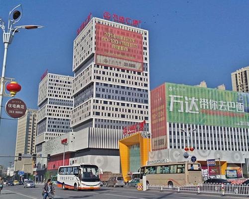 丹东万达广场案例