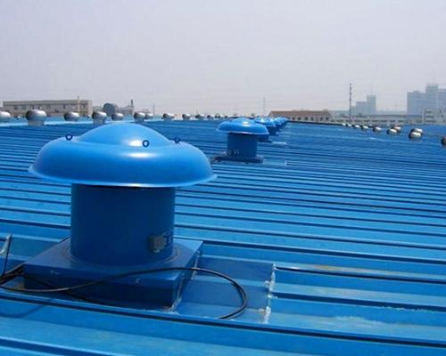 工厂车间屋顶风机案例